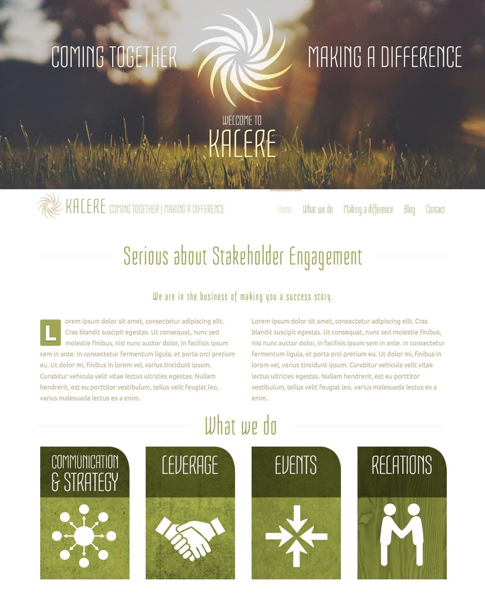 Kalere_Website-Concept